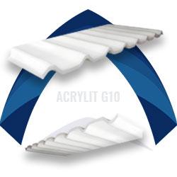 Lámina acrilica blanca stabilit