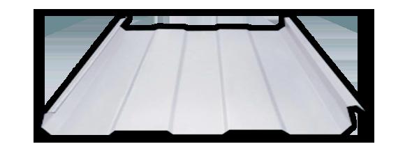 Lámina acanalada de acero KR18