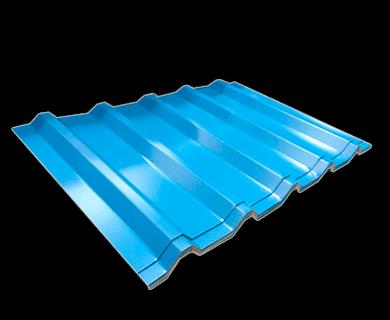 Lámina de acero pintro R101