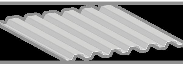 Perfil de la lámina RD91.5