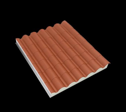 Panel de acero metcoppo