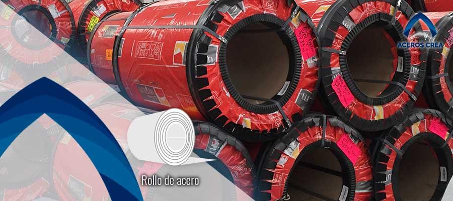 Rollos de acero Ternium en México