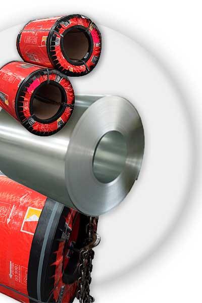 Rollos de acero Ternium