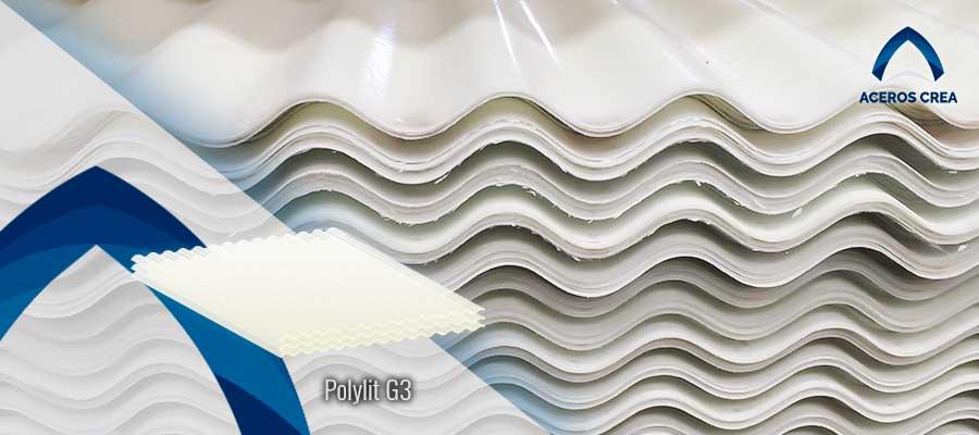 Lámina de poliéster polylit