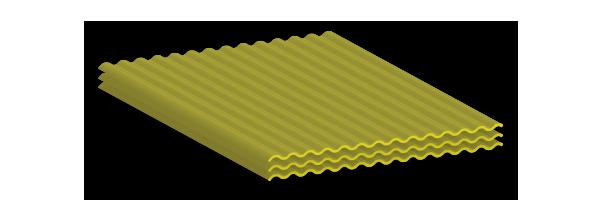 Lámina traslúcida polylit