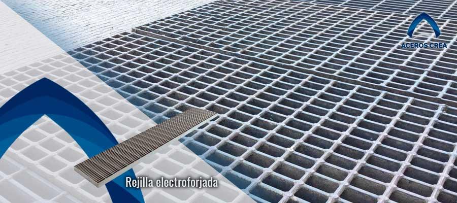 Venta de Rejilla electroforjada
