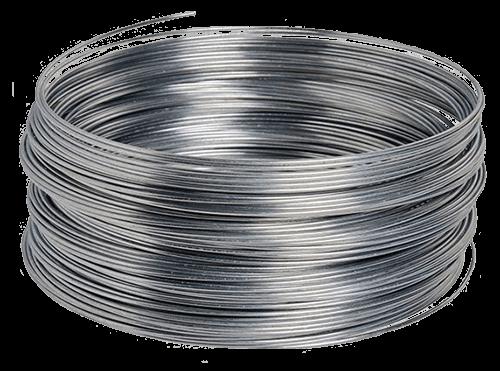 Rollo de alambre de acero galvanizado