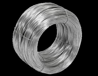 Distribución de alambre galvanizado