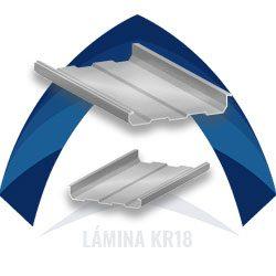 Lámina de acero kr18