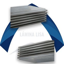 Lámina lisa de acero ternium